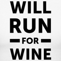 will-run-for-wine-Women-s-T-Shirts